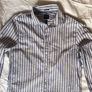 Armani Dress Shirt Striped